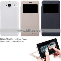 Xiaomi Redmi 2 - Redmi 2 Prime Nillkin SParkle Leather Case
