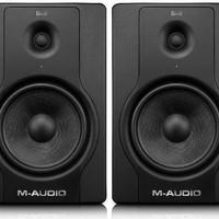 M-Audio BX8 D2 (Pair) ; 130-Watt Bi-Amplified Studio Monitors