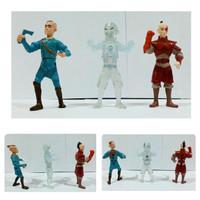 Action figure Avatar Aang The Last Air Bender set B Isi 3