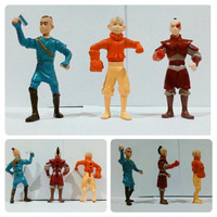 Action figure Avatar Aang The Last Air Bender set Isi 3