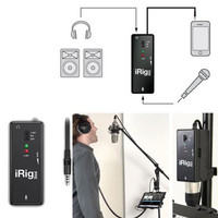 IK Multimedia iRig PRE (Original) ; Mic Interface for Android or iOS