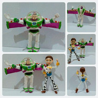 Action Figure Toy Story Buzz Lightyear with Jessie