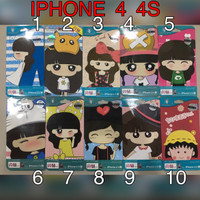 Newmond Full Body Depan Belakang Sticker iPhone 4 4S antigores