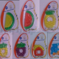 Teether IQ Baby 2 Color / Mainan Gigitan Bayi
