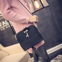 Tas Selempang Wanita Terbaru Leather Bags Hitam Original
