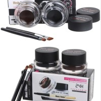 KOSMETIK PERIAS MATA EYELINER GEL EVER BEAUTY 24HOUR EYE LINER 2 WARNA