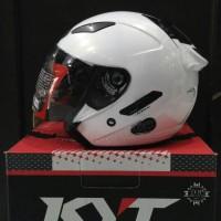 Helm KYT Galaxy Slide Solid Glossy Halface Original