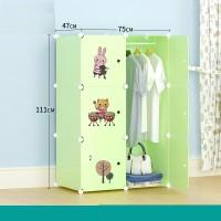 lemari rak baju gantung wardrobe meja besi anti air kuat lucu cute
