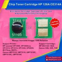 Chip HP Cp1025 CE314A (126A) Black / Color Imaging Drum