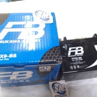 Accu Furukawa Battery FTX9-BS accu Ninja 250 12V - 8Ah