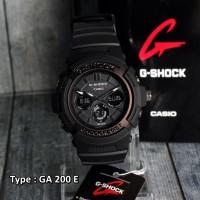 harga PROMO DISKON!!! Casio G-Shock GA200E Black/Hitam / Jam Tangan Pria Tokopedia.com