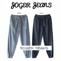jogger jeans pants - celana murah - jogger - bawahan wanita