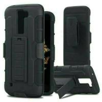 Case Belt Clip LG K10 /Dompet / Sarung / Hp / Ikat Pinggang