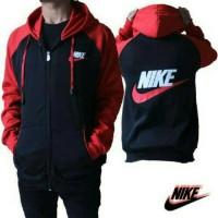 Nike Reglan Black Red / Jaket Murah / Grosir Jaket