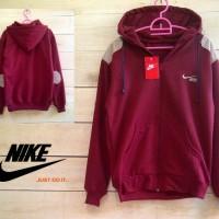 Nike Elbow Maroon / Jaket Murah / Grosi Jaket