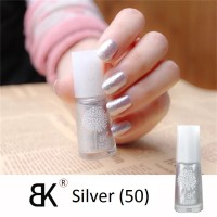Silver Peel Off Nail Polish Water Based 50