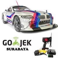 Jual RC Mobil Drift Sanzuan V-maxx Turbo Skala 1/10 Super Car BMW Putih Murah