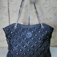 Tas Tory Burch Marion Quilted Slouchy Tote Vil