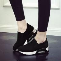 harga Sepatu Kets CASUL wanita ADL 715 / kets Air max HITAM Tokopedia.com