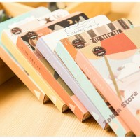 [SALE] Notebook / Buku Tulis / Catatan Diary Notebook Travel Town 160page