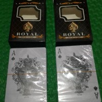 Paling Murah...Kartu Remi ROYAL DOUBLE 100% plastic