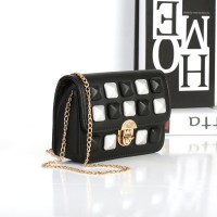 TAS SELEMPANG CLUTCH ELEGAN BLACK IMPORT WANITA FASHION TOTE BAG KOREA