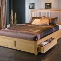 Jual Furniture Kamar Set Minimalis Tempat Tidur Dewasa Laci 2 Mebel Jati Murah