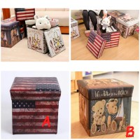 Jual Toy Box Storage Box ( mainan kursi squishi splat toy kotak vintage ) Murah