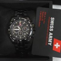 harga Swiss Army G 88646 All Full Black For Men Original Tokopedia.com