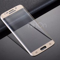 Samsung Galaxy S7 Edge   Tempered Glass Color Warna Full Screen Cu
