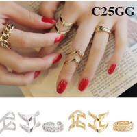 harga Cincin Korea (gelang kalung anting perhiasan import xuping set) Tokopedia.com