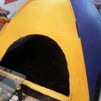 Jual tenda camping kemping dome lipat 6 orang dengan alas tenda Murah