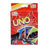 Mainan Anak Kartu UNO Karakter Spider-Man / Uno Card Games