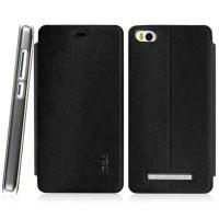 Imak Flip Leather Cover Case Series for Xiaomi Mi4i / Mi4c - Black