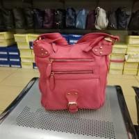 tas wanita selempang kulit sapi asli premium sling bag papillon fossil