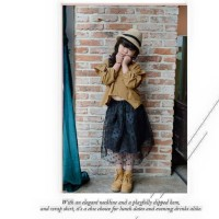 Skirt Black Polkadot(rsby-970)