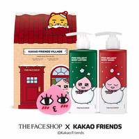 THE FACE SHOP KAKAO Friends Village Holiday Body Care Gift Set LV