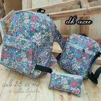 tas ransel wanita/backpack/tas sekolah anak/remaja sepatu tas murah