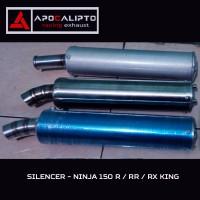 harga Silencer Knalpot Racing 2Tak utk Ninja 150 R / RR / Rx King / Rx Z Tokopedia.com
