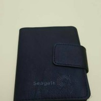 LEATHER POUCH / SOFT CASE HDD / PORTABLE DRIVE SEAGATE CASE