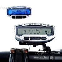XS180 SUNDING SD-558C Bicycle Digital LCD Spido Computer Odomtr Sepeda