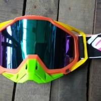 goggle 100% . kacamata cross, adventure.