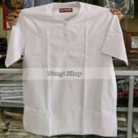 Jual Baju Koko Lengan Pendek, Baju Koko Putih Polos, Baju Koko, Kemeja Koko Murah