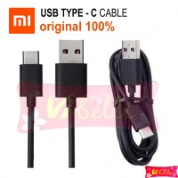 Kabel Data Xiaomi Tipe C ORIGINAL 100% USB Type C Cable TipeC TypeC