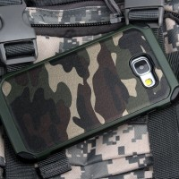 Samsung Galaxy A9 PRO Army Military Camouflage Case Shockproof Cover