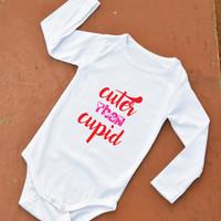 BAJU BAYI - BABY JUMPER VALENTINE / CUSTOM DESIGN / Cuter Than Cupid