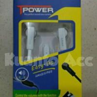 Headset T-Power Easy Go(Stereo/Handsfree/Earphone/Ngebass+MIX )
