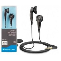 SENNHEISER MX 375 CRANK THE BASS Earphone / Earbuds - Hitam