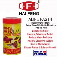 HAI FENG ALIFE FAST-I COLOR FLAKE 30GR MAKANAN IKAN TETRA FISH FOOD