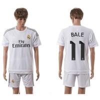 Jersey Sepakbola Real Madrid No 11 Bale Size L - White